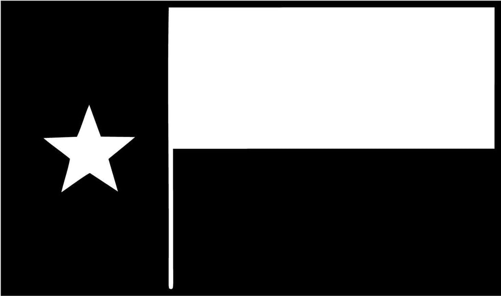 Texas Flag Vinyl Car Window Laptop Decal Sticker