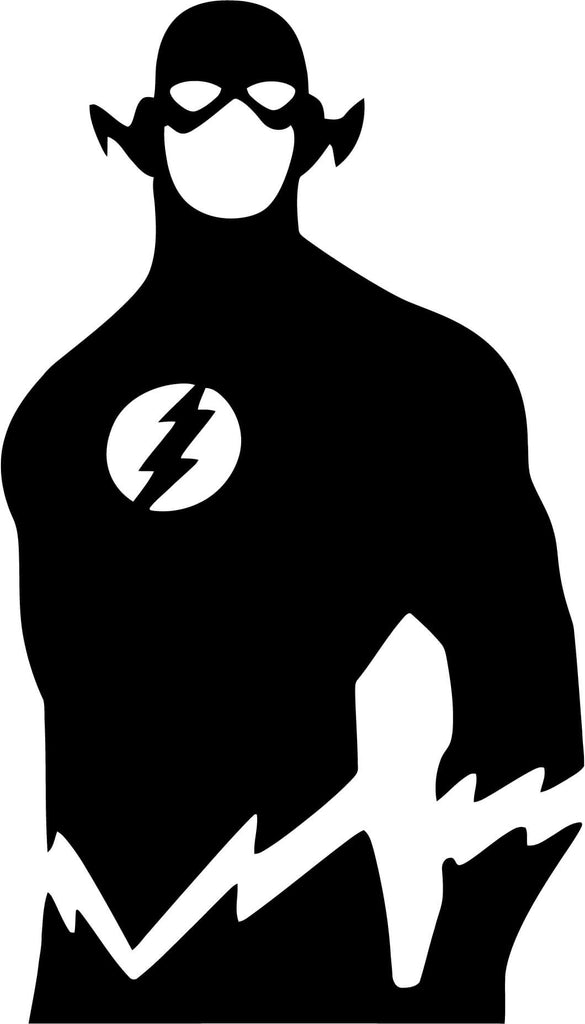 The Flash Full Body Vinyl Car Window Laptop Decal Sticker