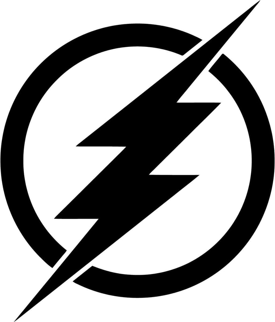 The Flash Barry Allen Emblem - Vinyl Car Window and Laptop Decal Sticker - Decal - Car and Laptop Window Decal Sticker - 1