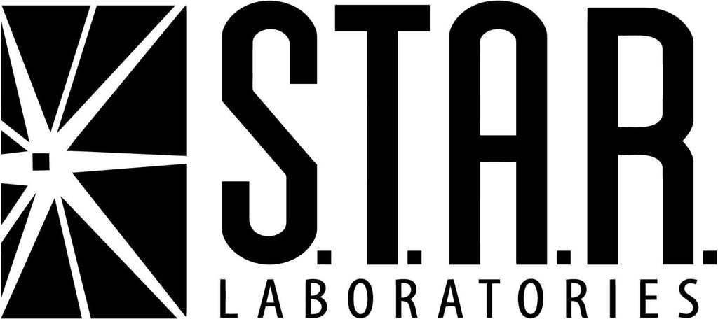 The Flash and Arrow Star Laboratories Vinyl Car Window Laptop Decal Sticker