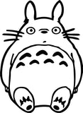 Totoro Variation 2 Vinyl Car Window Laptop Decal Sticker
