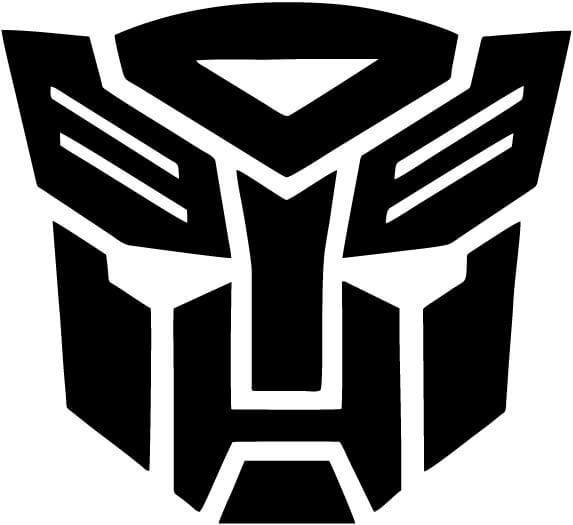 Transformers Autobot Vinyl Car Window Laptop Decal Sticker