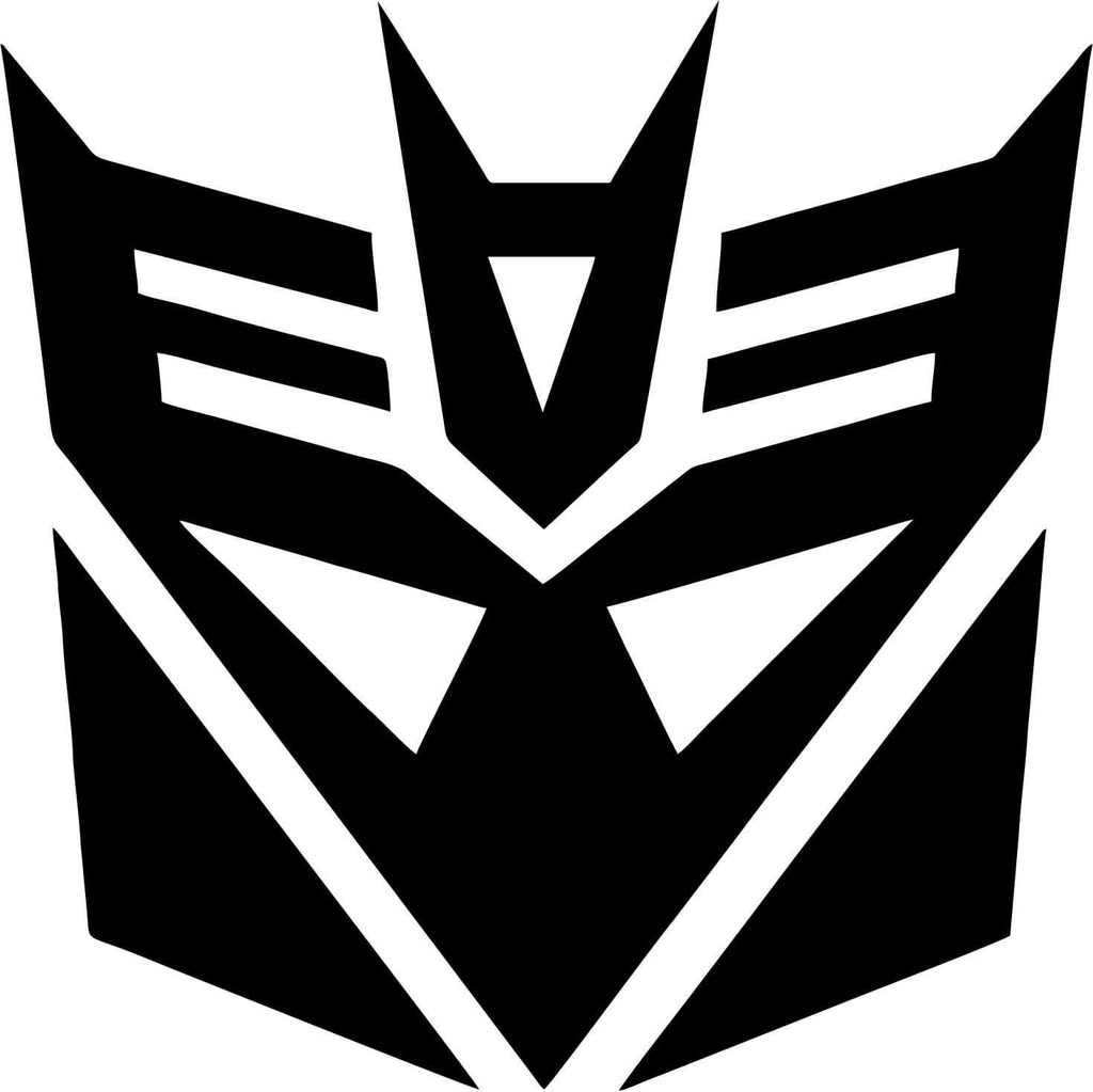 Transformers - Decepticons - Vinyl Car Window and Laptop Decal Sticker - Decal - Car and Laptop Window Decal Sticker - 1