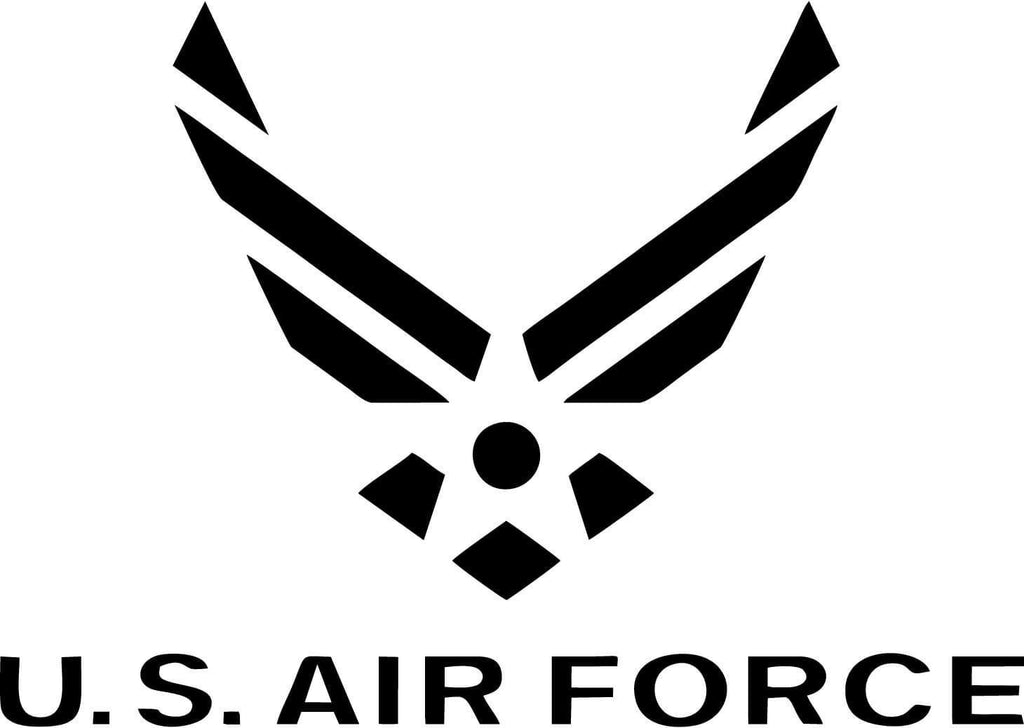 US Air Force Logo - Vinyl Car Window and Laptop Decal Sticker - Decal - Car and Laptop Window Decal Sticker - 1