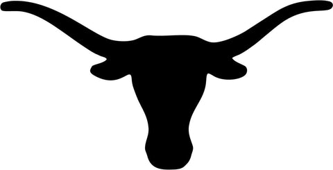 University of Texas Longhorns Vinyl Car Window Laptop Decal Sticker