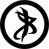 Vision Rune Inspired By Mortal Instruments Vinyl Car Window Laptop Decal Sticker