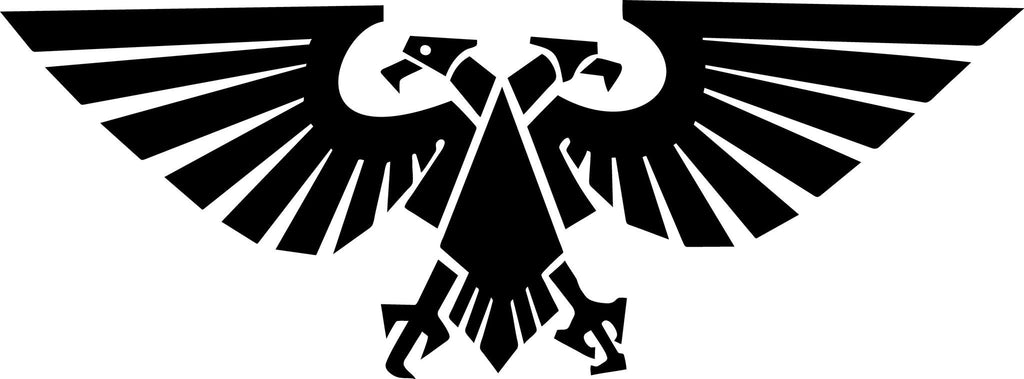 Warhammer 40k Aquilla Imperium of man Vinyl Car Window Laptop Decal Sticker
