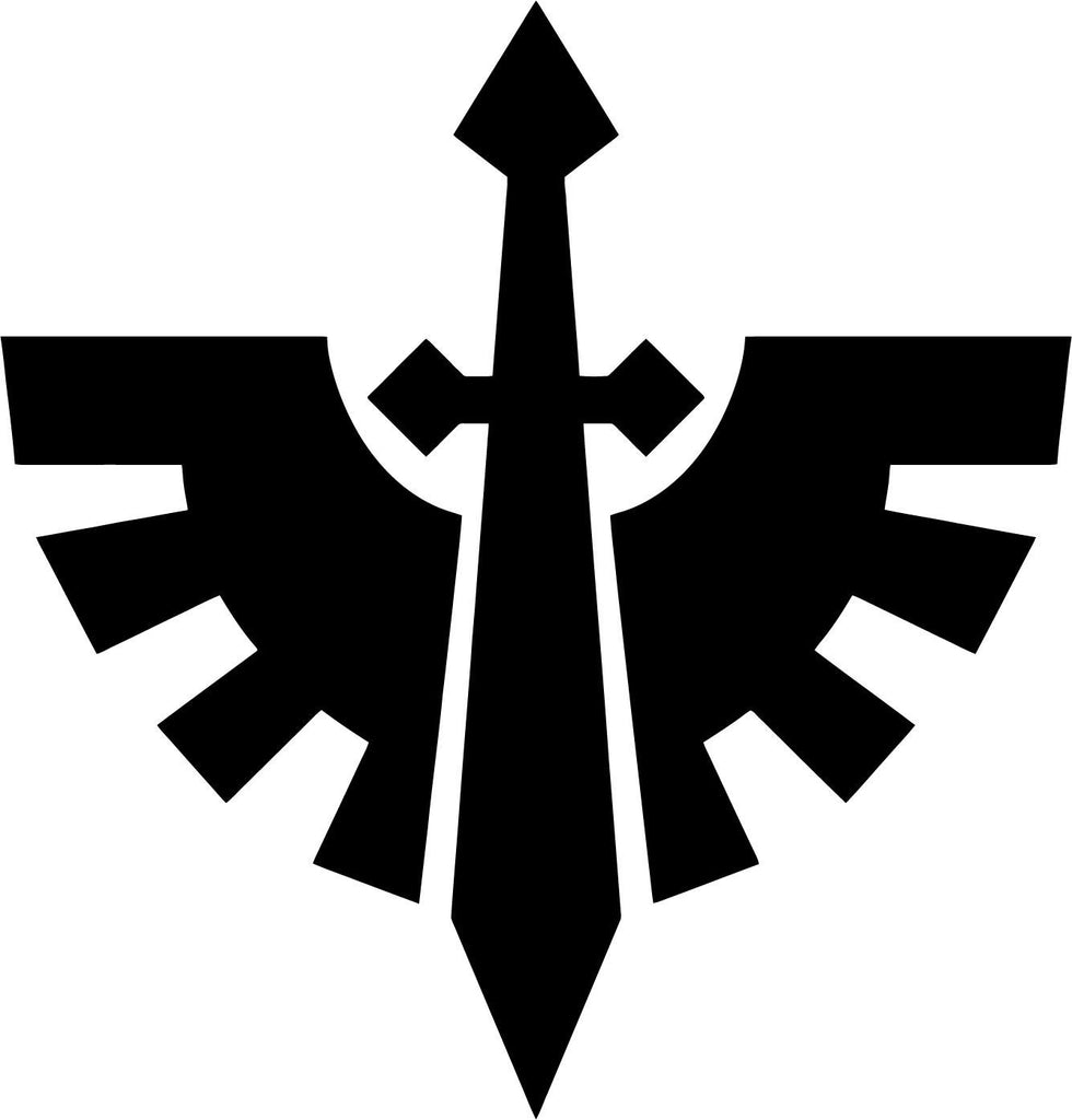 Warhammer 40k Dark Angels Chapter Badge Vinyl Car Window Laptop Decal Sticker