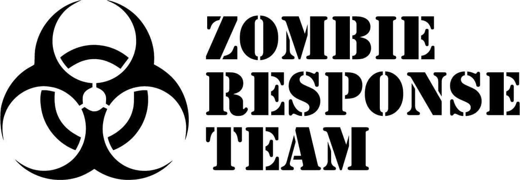 Zombie Response Team - Vinyl Car Window and Laptop Decal Sticker - Decal - Car and Laptop Window Decal Sticker - 1