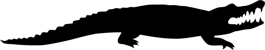 Alligator Vinyl Car Window Laptop Decal Sticker