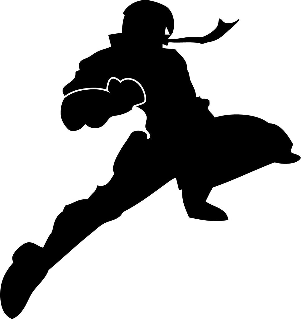 Captain Falcon - Knee of Justice - Vinyl Car Window and Laptop Decal Sticker - Decal - Car and Laptop Window Decal Sticker - 1