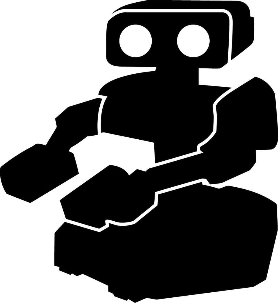 Rob Tasbot NES Nintendo Vinyl Car Window Laptop Decal Sticker