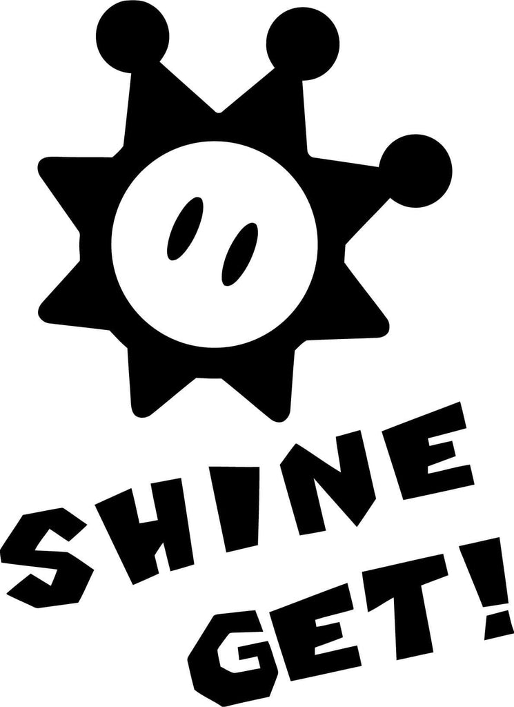 Shine Get Vinyl Car Window Laptop Decal Sticker