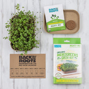 Organic Microgreens Kit, Variety 3-Pack (includes 6 grows) 🌱