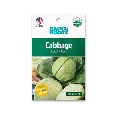 Cabbage - 'Golden Acre'