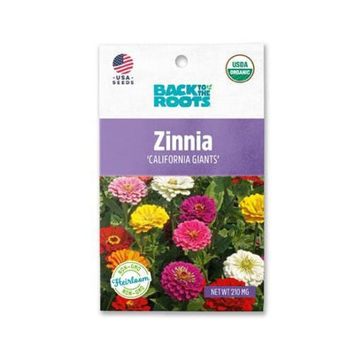 Zinnia - 'California Giants'