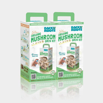 Organic Mushroom Grow Kit, 2-Pack