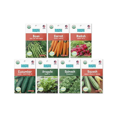 Classic Summer Seeds, 7-Pack Organic Seed Bundle