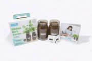 Kitchen Mason Jar Herb Garden by Ayesha Curry - Organic Basil & Mint
