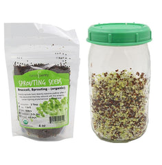 2-Jar Complete Sprouting Kit - Back to the Roots
