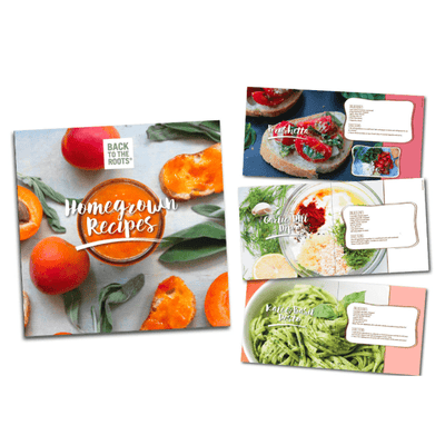 Homegrown Recipe Book & Decorative Kitchen Art