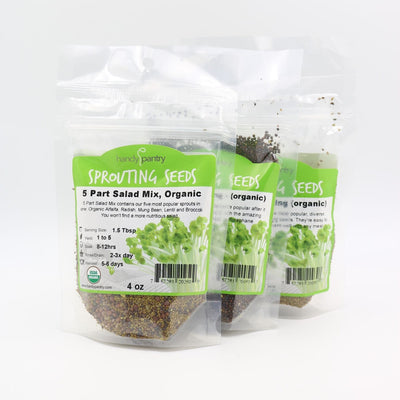 Refill Kit for 2-Jar Complete Sprouting Kit - Back to the Roots