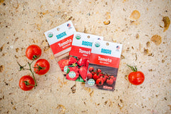 Organic Heirloom Tomato Variety Pack - Seed Packet Bundle