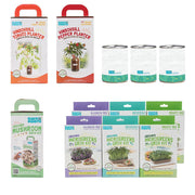 Summer Gardening Collection: 12 Kit Bundle (Herbs, Veggies, Mushrooms,  & Microgreens)