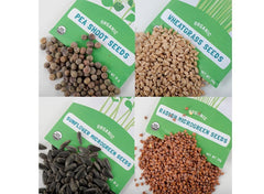 Microgreen Seed Packets - Shades Of Green Seed Bundle - Back to the Roots