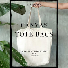 What is Canvas Tote Bag?-BagzDepot™