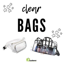 What is a Clear Bag? Clear Tote Bags & The Clear Bag Policy-BagzDepot™