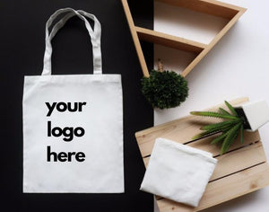 plain tote bag with
