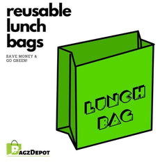 Reusable Lunch Cooler Bags to Save Money & Go Green-BagzDepot™