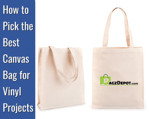canvas bags for HTV