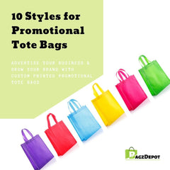 10 Styles for Promotional Tote Bags-BagzDepot™