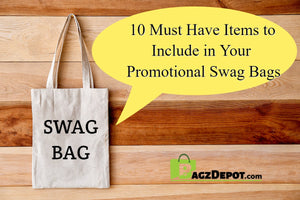 what to include in promotional swag bags