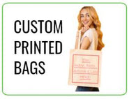 Tote Bags with Logo - Printed Bags Wholesale - Corporate Gift Bags - Custom Tote Bags