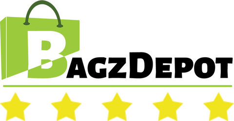bagzdepot logo with five stars