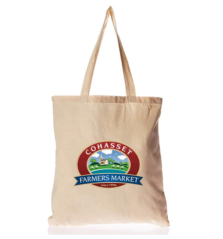canvas tote bag printed logo