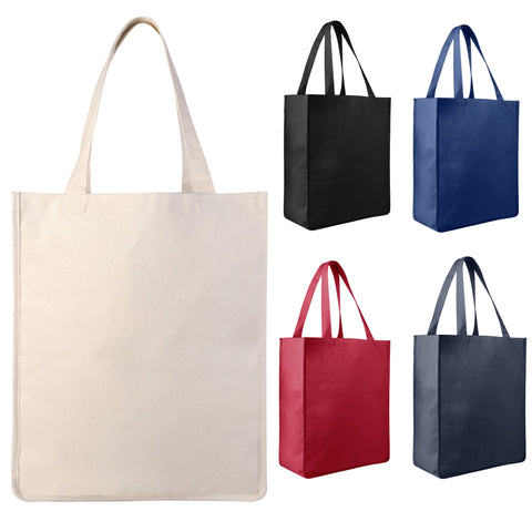 color canvas tote bags