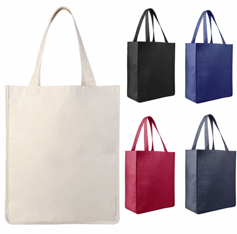 large canvas grocery bag