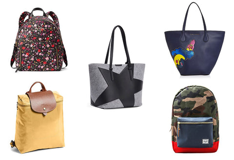backpacks and totes