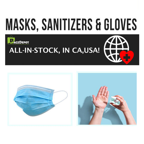 Where to Purchase Online Hand Sanitizer, Disposable Gloves, and Face Masks for Pandemic Protection?