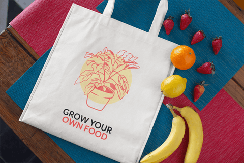 reusable grocery shopping tote bags