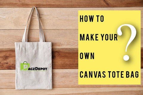 how to make canvas tote bag