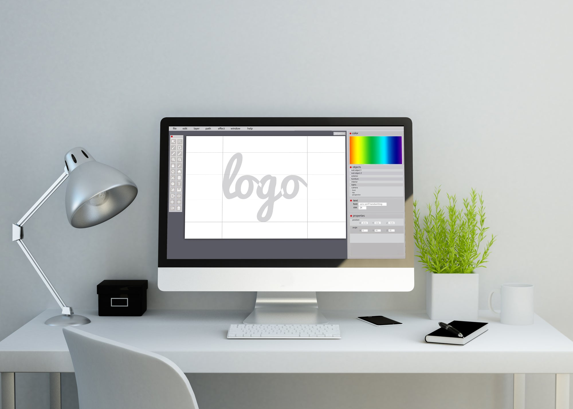 printed logo creation