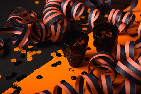 Festive Halloween Decorations ribbons