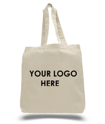 Get your logo on custom canvas bag