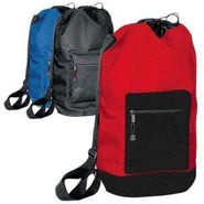 Polyester Durable Drawstring Backpack with Shoulder Strap - 2041 Backpacks & Clinch