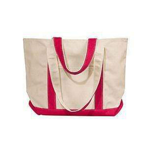 Liberty Bags Windward Large Cotton Canvas Classic Boat Tote - 8871 Bags
